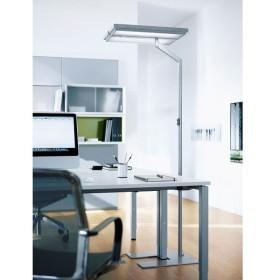 Waldmann TYCOON Comfort 4x55W à mat coudé - lampadaire