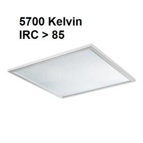 Dalle LED lumière du jour 5700K - 60x60 - encastrable