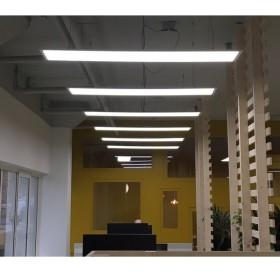 Dalle LED lumière du jour 5700K - 120x30 - encastrable