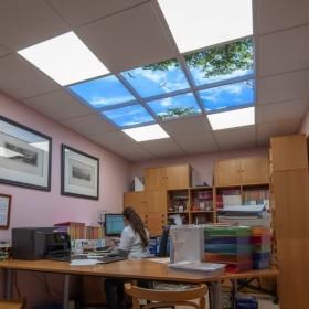 Plafond lumineux LED Cumulux