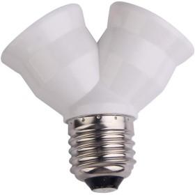Splitter 2 en 1 pour ampoules à vis E27
