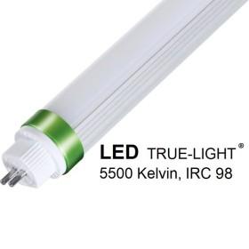 Tube LED T5 TRUE-LIGHT 30W 145 cm - lumière du jour 5500k